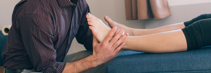 Chiropractic North Yarmouth ME Ankle Adjustment
